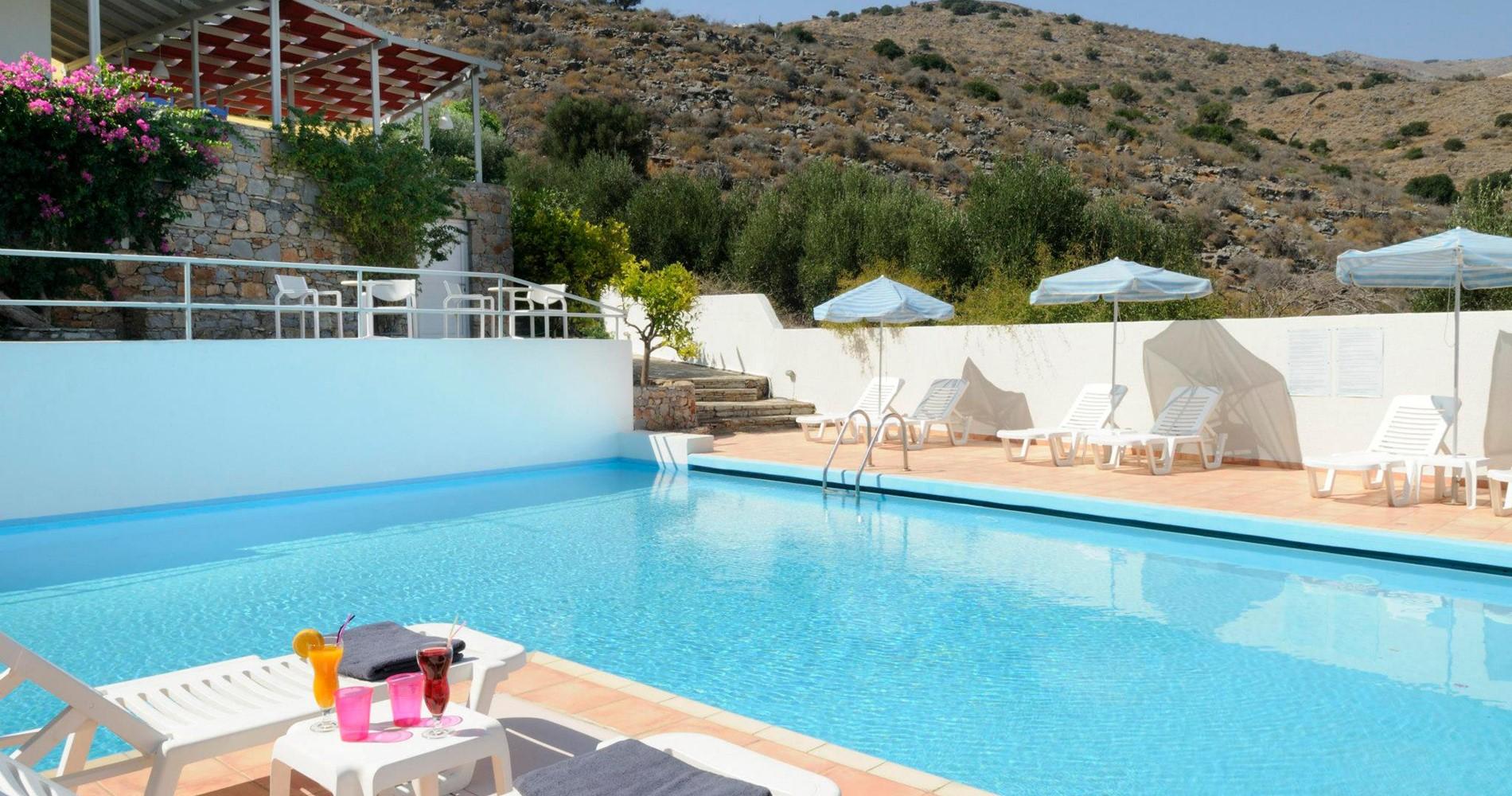 Official website of selena hotel elounda village hotel elounda accommodation elounda crete for Swimming pool technician salary